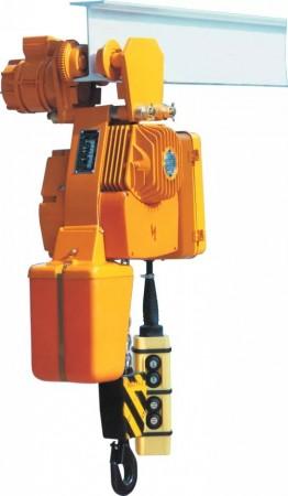 Таль электрическая цепная передвижная BВ094M, г/п 1000кг, высота подъема 9м