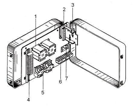Блок-управления в сборе для односкоростной тали с электр. тележкой 380V 3,2т